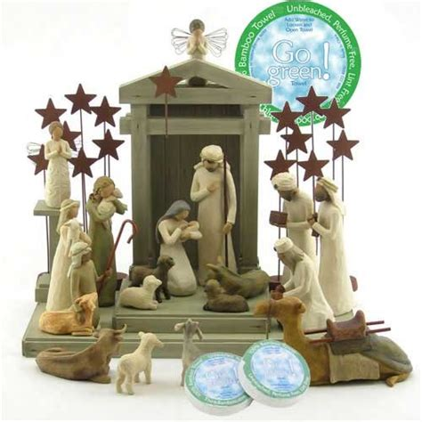 willow tree complete 23 piece nativity set by 171 christmas