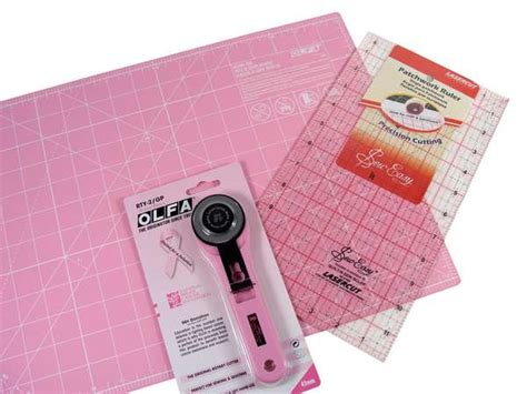 olfa quilting 45mm blade rotary cutter patchwork ruler