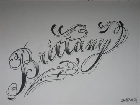 brittany tattoo designs script by armada27 on deviantart