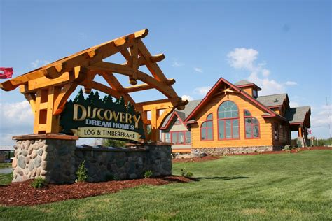 panoramio photo of discovery homes log homes