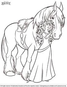 picture to color brave coloring picture