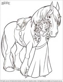 brave coloring pages free coloring pages of brave merida