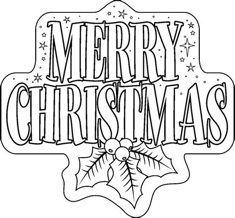 Merry Coloring Pages 5 Merry Christmas Coloring Pages Merry Christmas