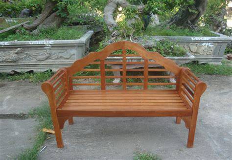 curved outdoor bench with back garden bench 2 seater wooden acacia patio furniture