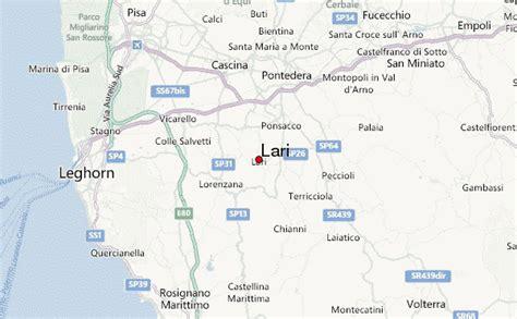 weather pisa lari location guide