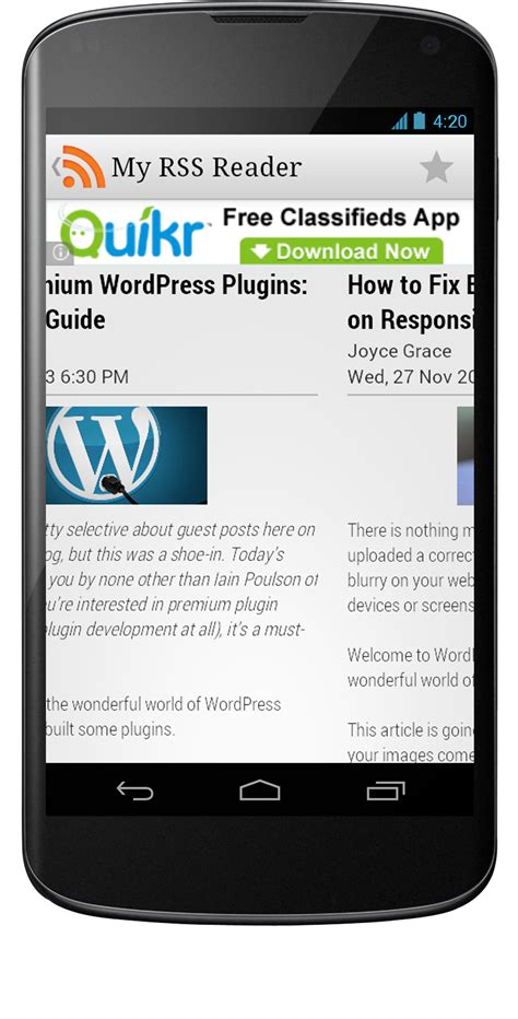 rss reader android rss reader android6 mobile app development android app development iphone app development