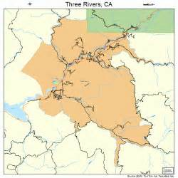 three rivers california map three rivers california map 0678638