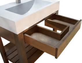 concrete sink trueform concrete bathroom sinks new