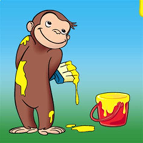 painting curious george gamasutra pbs launches iphone brand with curious george