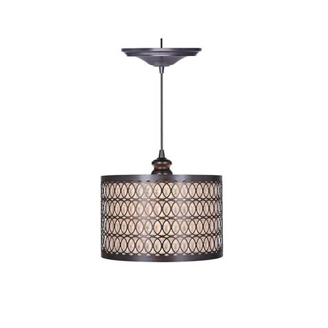 home decorators collection lighting home decorators collection bella 1 light brushed bronze