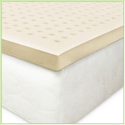 latex bed topper latex king mattress topper
