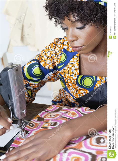 african american sewing blogs african american female tailor stitching patterned cloth