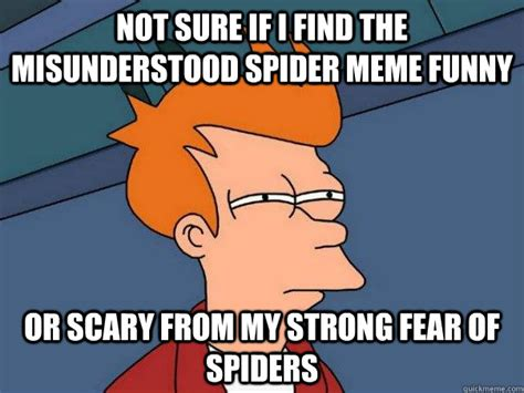Scary Spider Meme - scary spider meme