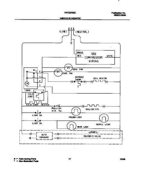 frigidaire refrigerator wiring diagram 2008 wiring