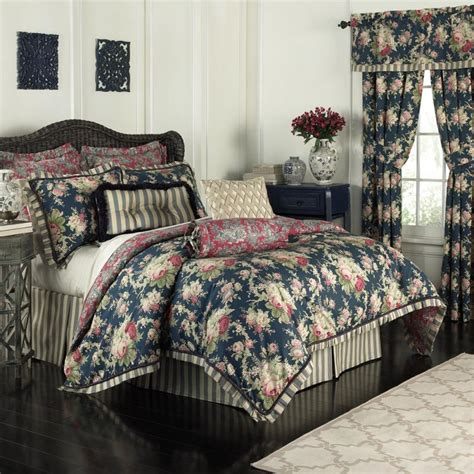 waverly waverly sanctuary rose  piece bedding collection