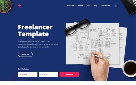 Freelancer Designer Html5 Responsive Website Template Website Template Like Freelancer
