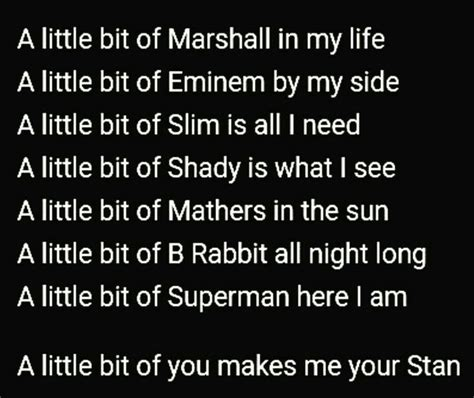 eminem stan lyrics eminem stan lyrics tumblr www pixshark com images