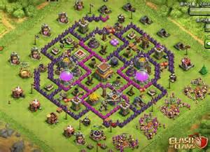 Best town hall level 8 defense new update top 5 clash of clans town
