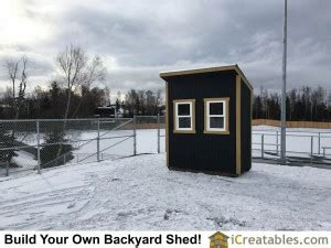 lean  shed built   ticket booth  anchorage