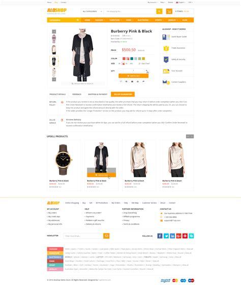 jekyll layout none alo shop mega market rtl responsive woocommerce