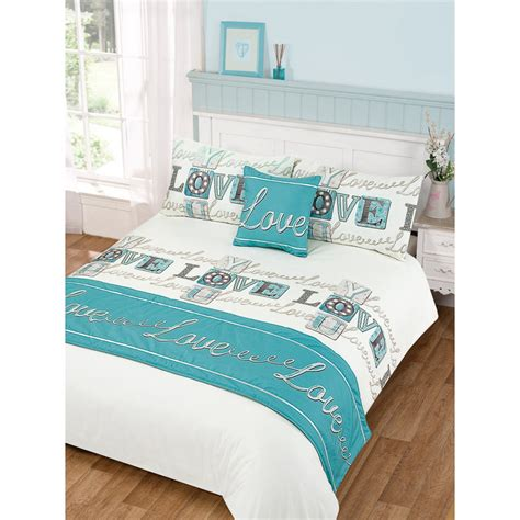 Love Bed in a Bag Duvet Set Double Size   Bedding, Bedroom