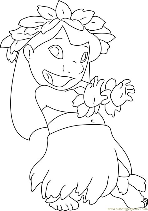 coloring pages dancing animals lilo dancing coloring page free lilo stitch coloring