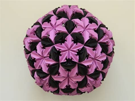 origami paper flower ball tutorial top 25 best origami ball ideas on pinterest paper
