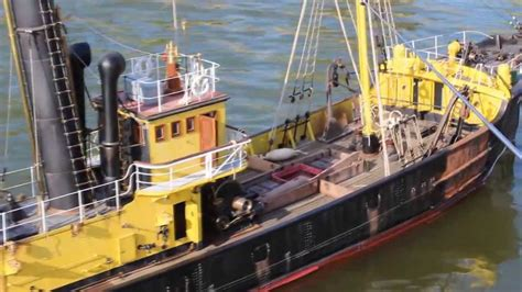 boats with big fans portuguese steam fishing boat 1 19 large scale rc replica