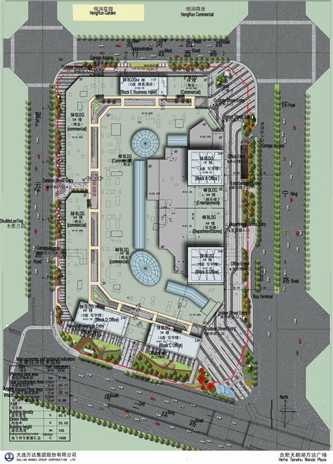 Floor Plan Layouts gallery of hefei wanda mall hyhw architects 10