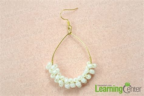 make jewelry at home for a company how to make your own teardrop hoop earrings at home