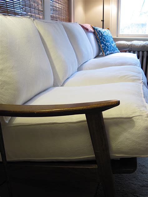 how to have couch breathing new life into an old wood frame couch bungalow