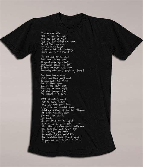 river james river james lyric shirt mens  products