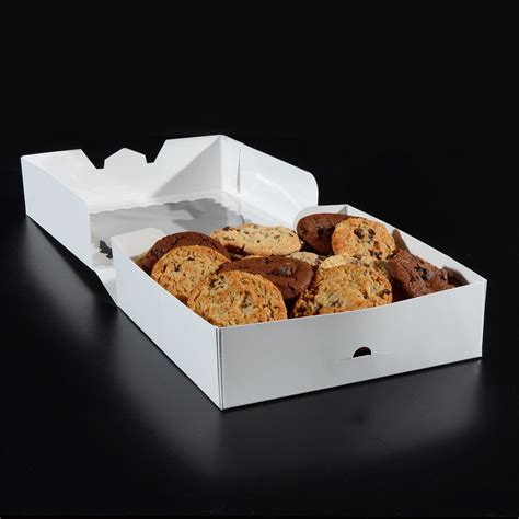 cookie box with window 9 x 9 x 2 5 pie box cookie box with window 10 pack