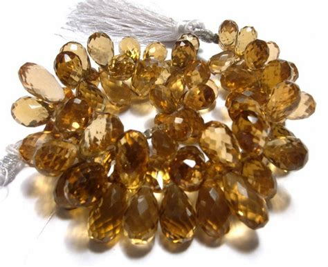 Honey Quartz 006 7 25 inches finest quality genuine quartz micro