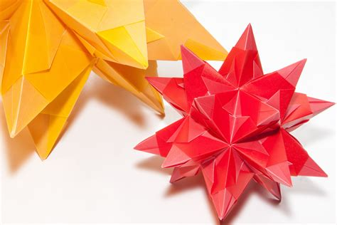 Three Dimensional Origami - small origami flower choice image flower arrangements ideas
