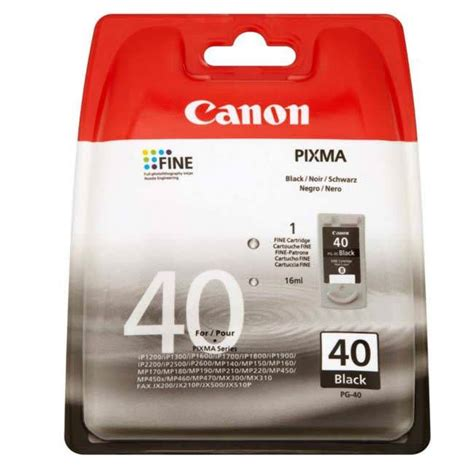 Tinta Canon Pg 40 Original canon pg 40 original inkjet cartridge