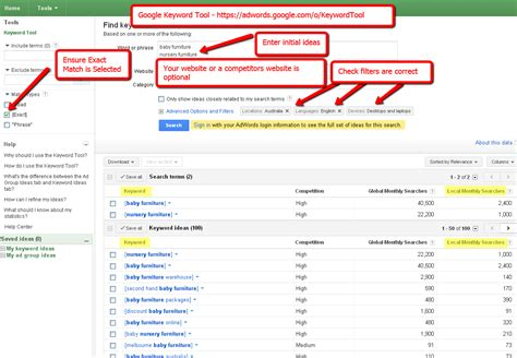 Keywords Search For Using Keyword Tool For Keyword Research Webonize