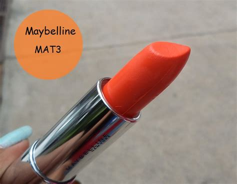 Lipstik Maybelline Bold Matte maybelline color sensational bold matte lipstick mat3