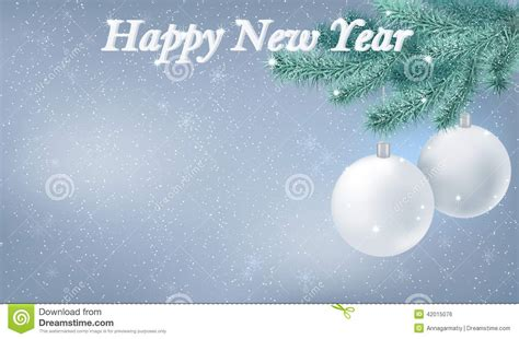 new year snow happy new year snow background stock vector image 42015076