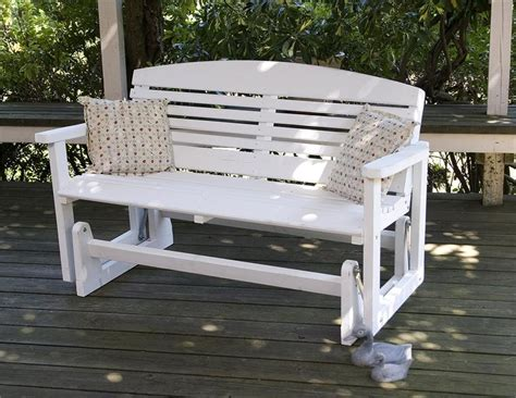 white outdoor glider bench outdoor glider bench ideas the homy design