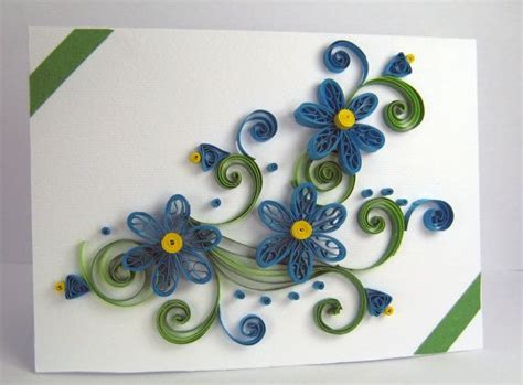 Handmade Quilling Greeting Cards - 17 best ideas about handmade thank you cards on