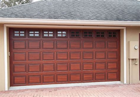 Wooden Garage Door Panels by Wooden Garage Door Panels Style And Options Home Interiors