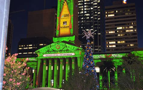 brisbane city hall buildings brisbane building christmas