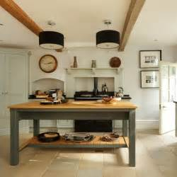 country kitchen ideas uk pale blue and wood country kitchen housetohome co uk