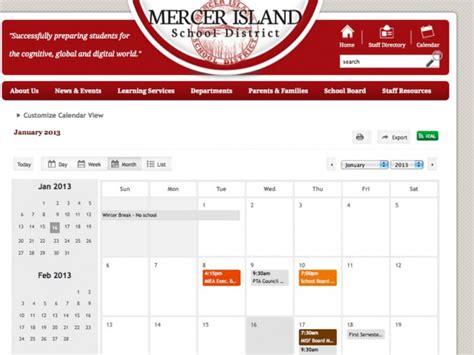 District 214 Calendar Three Year Misd School Calendar Approved Mercer Island
