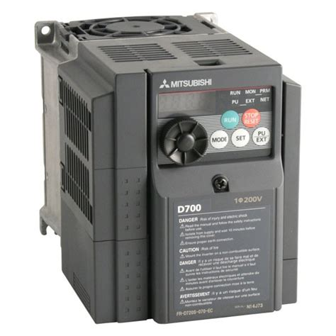 Inverter Mitsubishi Fr D720s 1 5k 1 5kw mitsubishi d720s 1 5kw 230v 1ph to 3ph ac inverter drive speed controller unfiltered ac