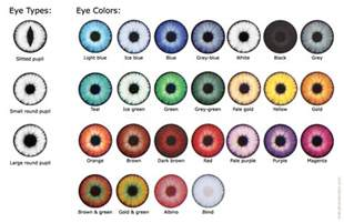 eye color chart chart different hazel eye color chart
