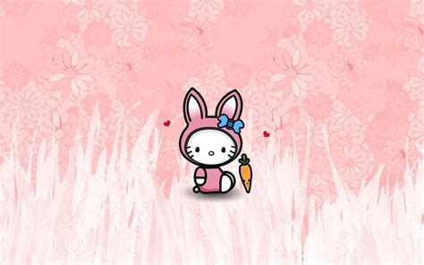 free hello kitty easter wallpaper hello kitty easter wallpapers wallpaper cave