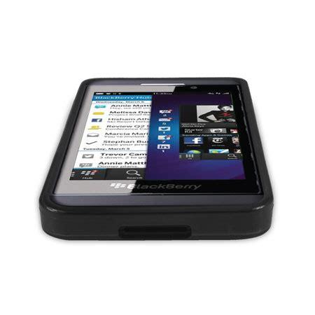 Blackberry Z10 Black Ori flexishield for blackberry z10 black mobilezap