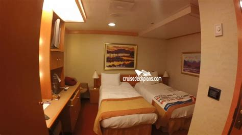 carnival freedom deck plans cabin diagrams pictures